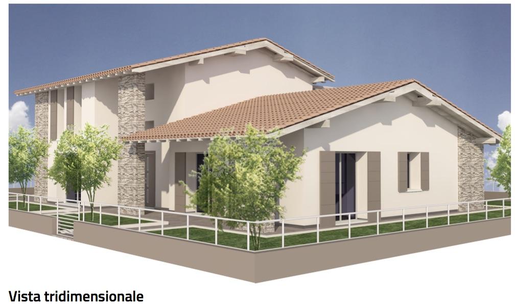 Prossima realizzazione a Magreta di Villa bifamiliare in Classe A- Rif 610