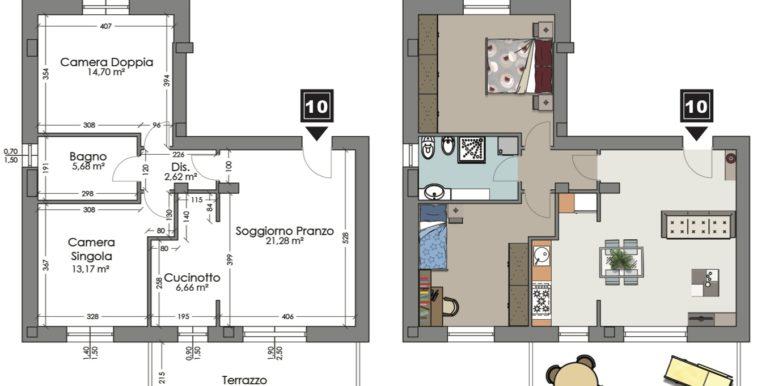Appartamento 10 piano terzo
