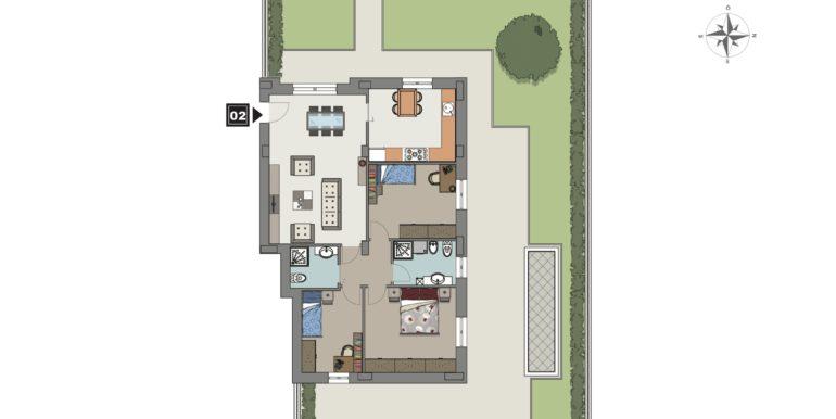 Appartamento 2 piano terra