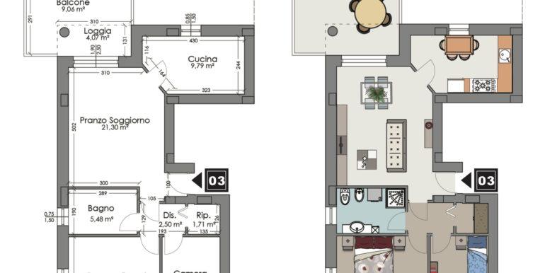 Appartamento 3 piano primo