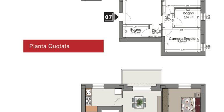 Appartamento 7 piano secondo
