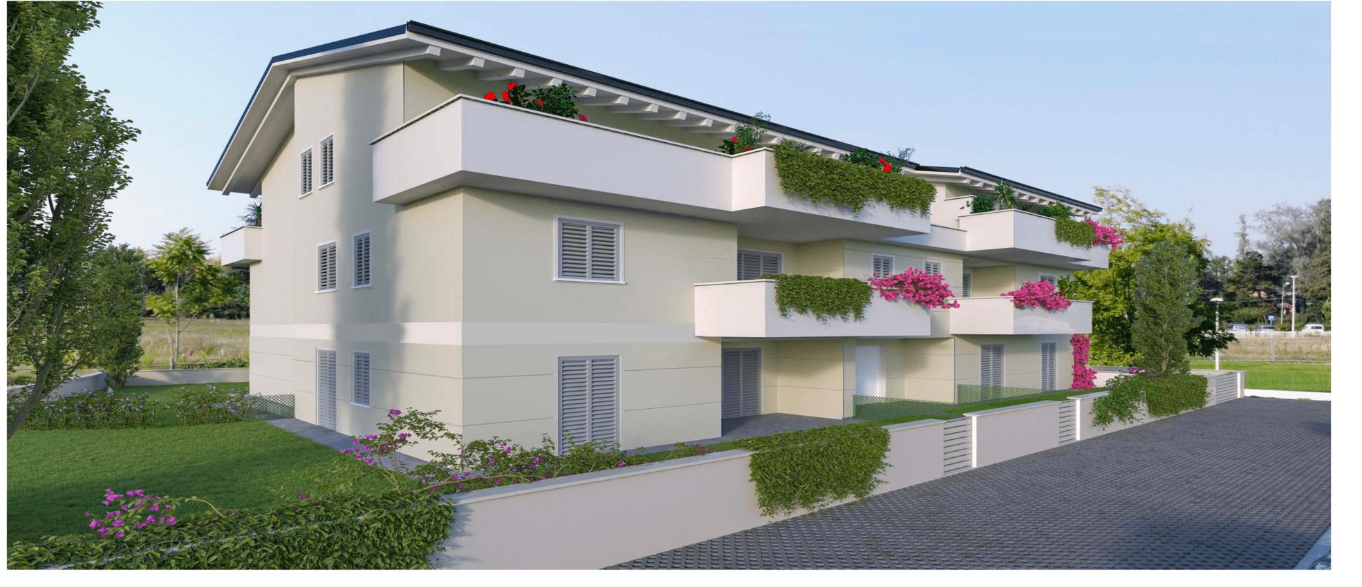 Appartamento con terrazzo a Montale Rangone – Rif. C019-A07